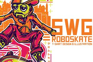 SWG Roboskate Illustration