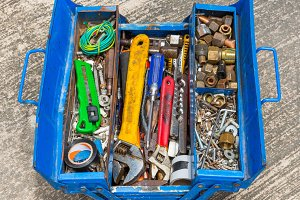 Hand Tools in box