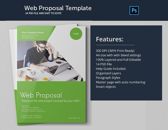 business web proposal by graphicalark in templates