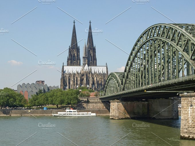 Cologne cathedral - Architecture