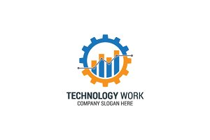 Technology Gear Logo