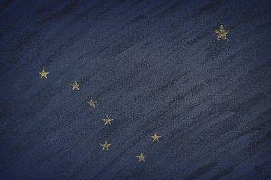 Alaska state flag.