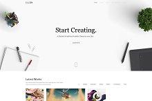 Ellion | Portfolio Template