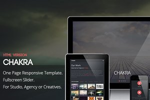 Chakra - One Page HTML Template