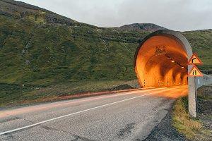 Tunnel into a Mountain of a Mountain