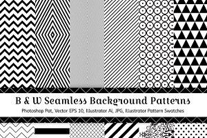 12 Geometric Seamless Patterns