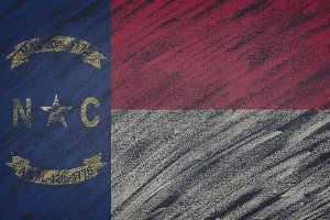 North Carolina state flag.