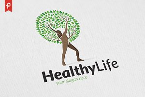 Healthy Leaf Logo