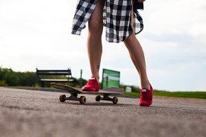an old skate