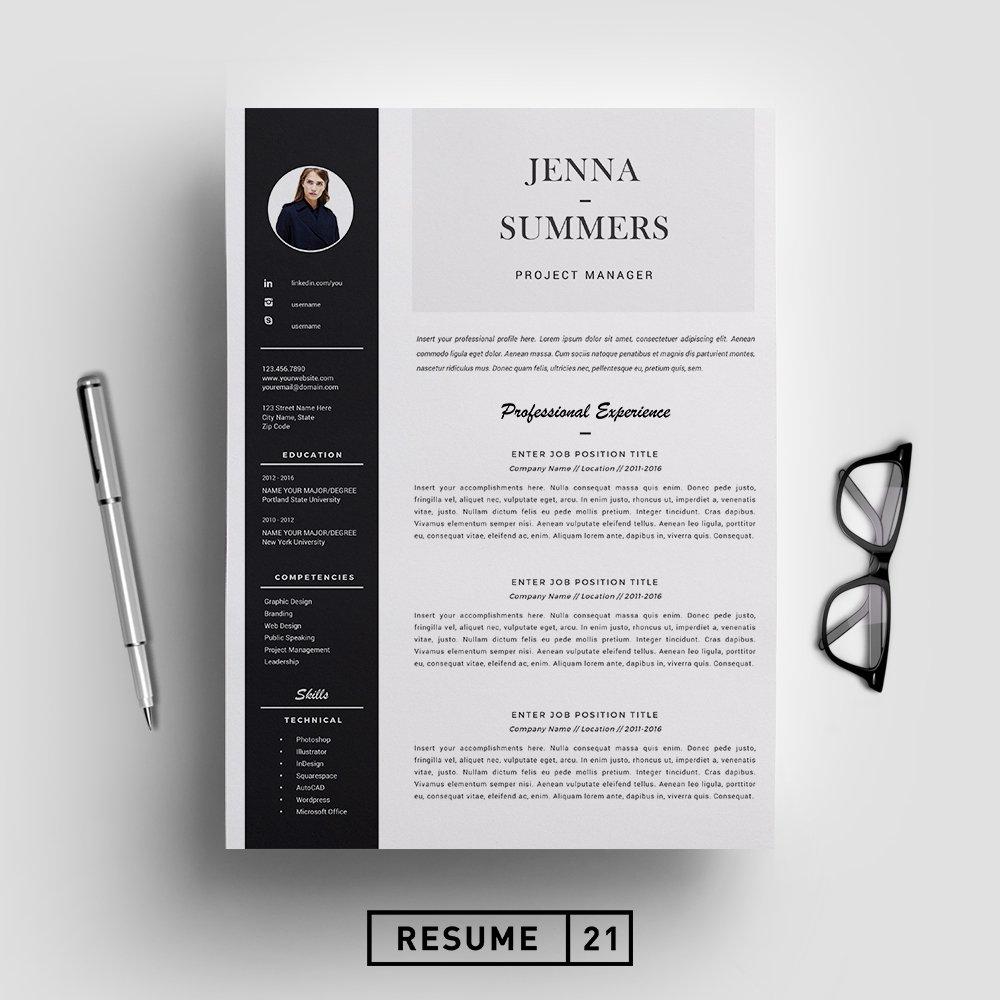 Resume Template Cv Template Resume Templates