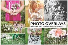 Photo Overlays | Marketing Vol. 1