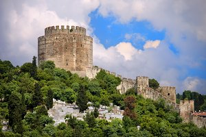 Castle of Europe in Istanbul