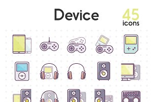 Device icons