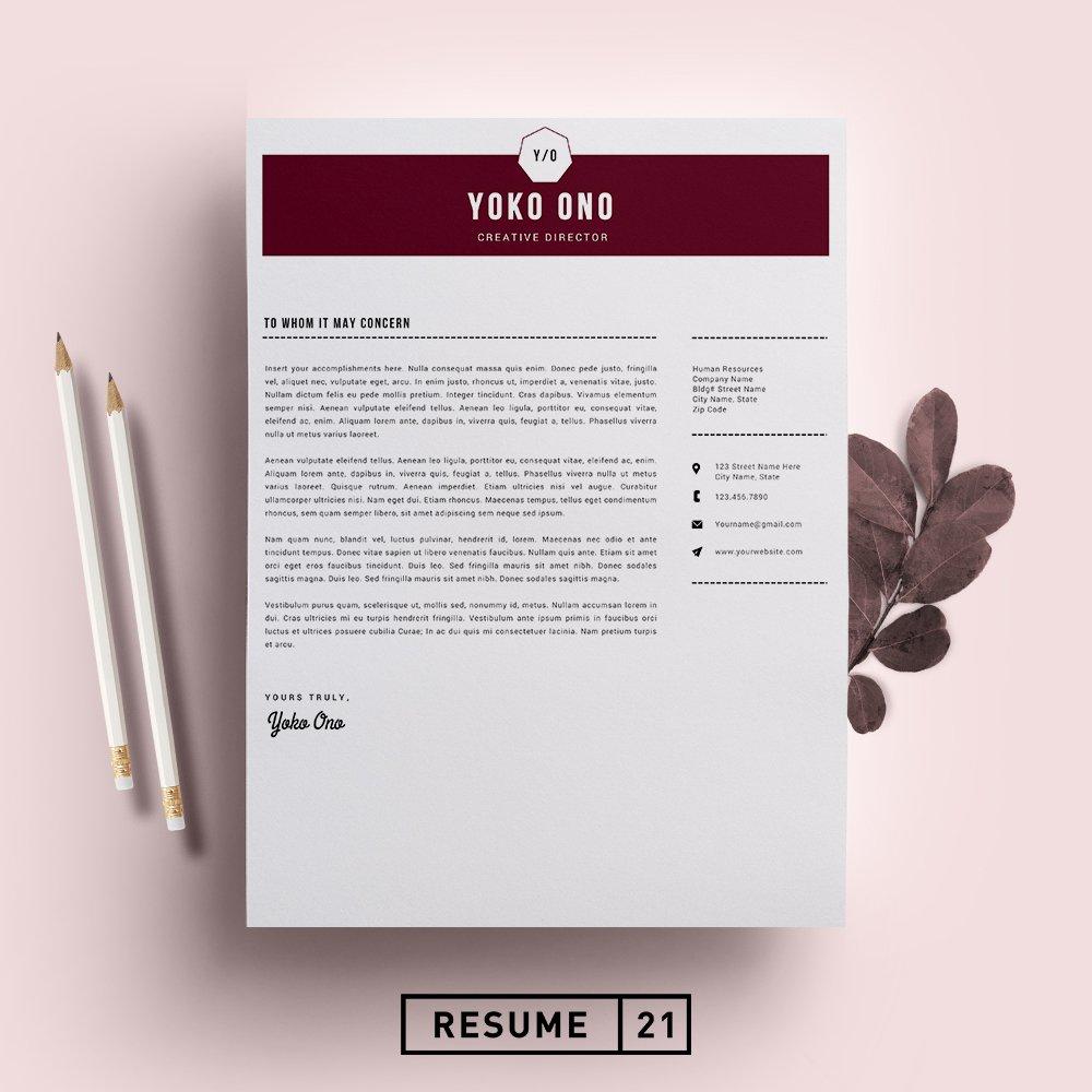 Creative Director Resume Template Cv Creative Daddy