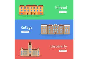 School, College and University