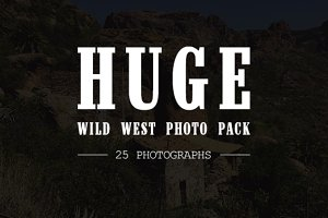 Wild West Photographs Pack (25)