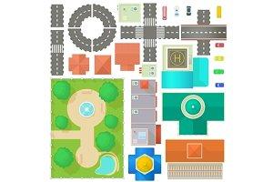 City Map Constructor set