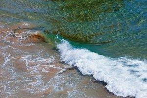 Ocean surf wave.