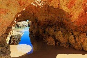 Algarve beach, Portugal.