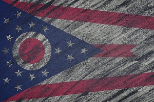 Ohio state flag.