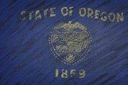 Oregon state flag.