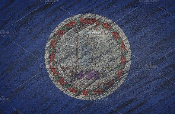 Virginia state flag.