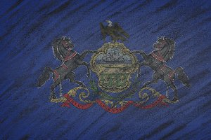 Pennsylvania state flag.
