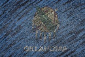 Oklahoma state flag.