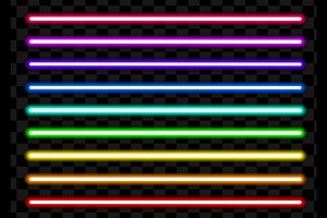 Neon tube light pack