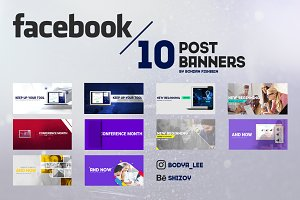 Facebook Startup Post Banners