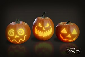 Decorative Pumpkins Selection 02