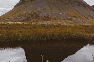 Mountain Reflections on a Lake