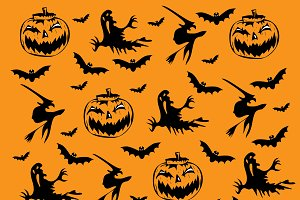 Happy Halloween background icons