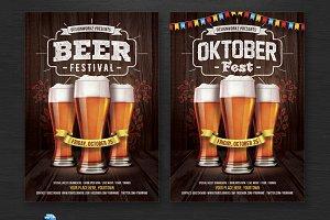 Oktoberfest/Beer Festival Flyer