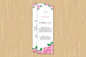 Photo Booth Place Card Template