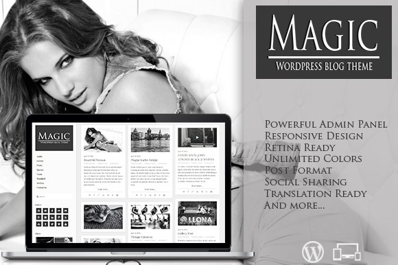 Magic - Retina Responsive Blog