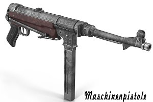 Submachine gun MP40