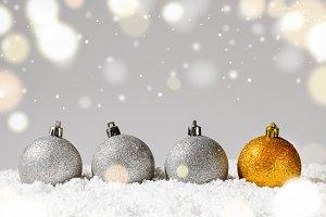 decorative christmas balls