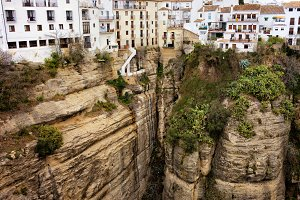 Cliff Houses in Ronda