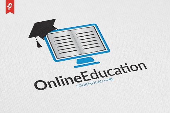 online education logo logo templates creative market