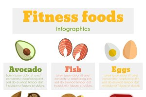 Fitness healthy foods