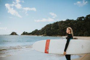 Female Surfer V4