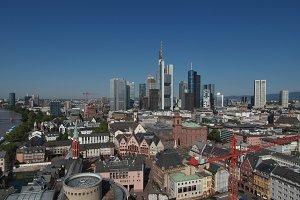 View of Frankfurt am Main