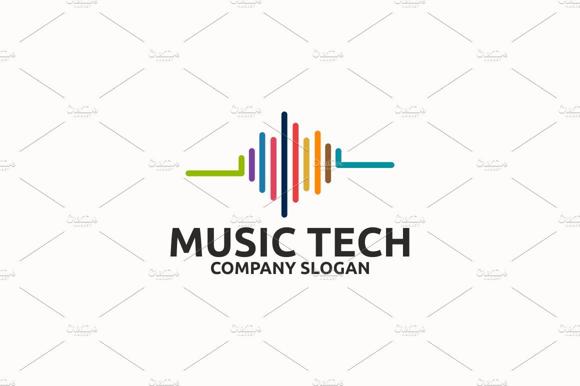 Music Tech ~ Logo Templates ~ Creative Market