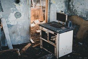 Inside an abandoned Farm House