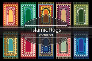 Islamic Prayer Rugs.