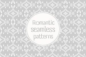 Romantic floral seamless