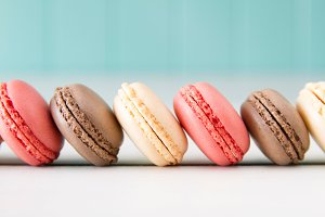 The macarons parade &#x3B;)