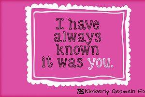 KG Skinny Love
