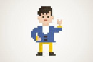 Pixel man2